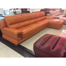 Brown Color Sofa Set, Hot Sell Living Room Sofa (A-38)