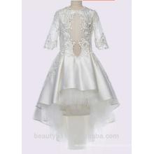 High Quality flower girl dress patterns free lovely lace flower girl dress for wedding Children Girl Dress ED735