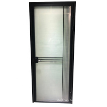 Slim frame aluminium profile  frosted washroom door