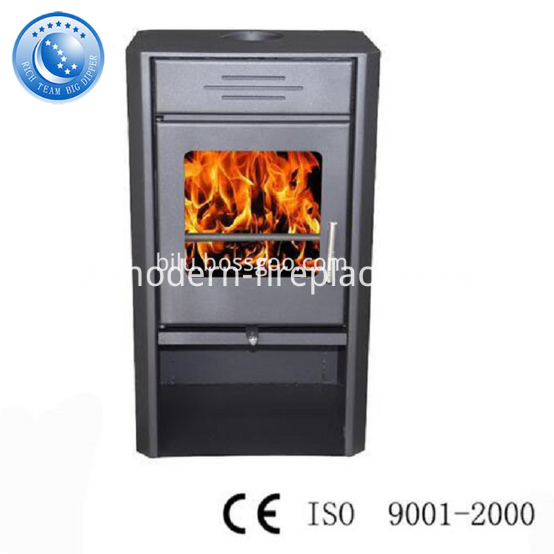 2016 Steel Plate New Design Wood Burning Stoves