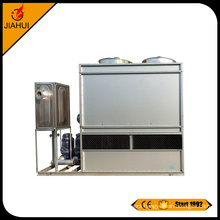 Square closed counterflow cooling water tower