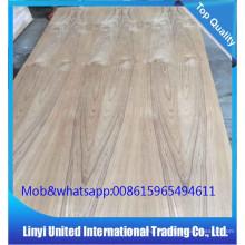 madeira compensada natural do folheado do teca 3MM