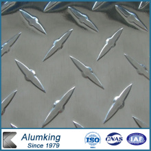 Diamond Checkered Aluminum/Aluminium Sheet/Plate/Panel 5052/5005