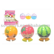 fruits wind up toys