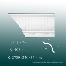 2015 Nuevo moldeado de poliuretano exterior Elagan Replacement PU Molding
