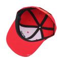 пользовательских дешевые мода дизайн хлопок snapback с черным логосом вышивки на alibaba оптовых
