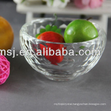 Engraved Clear Crystal Bowls For Tableware