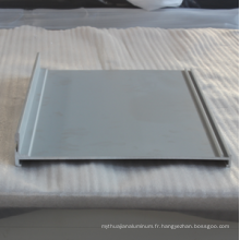6063 Profilé de porte et fenêtre en aluminium extrudé