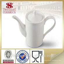 Weißer keramischer Porzellan-Espressotopf