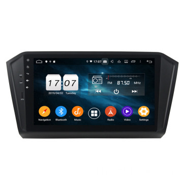 Klyde android car dvd gps สำหรับ PASSAT 2015-2017