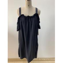 Schwarze schulterfreie Kleider für Damen