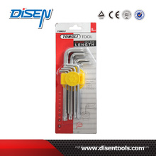 Matt MID-Long Torx Point Allen Key Set