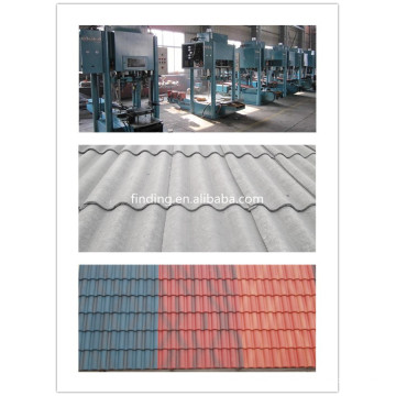 cheap cement roofing machine/cement tile machinery/roof machine/clay roof tile machine