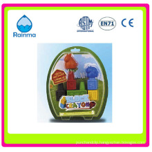 Plastic Wax Crayon with 3D Animal Shaped