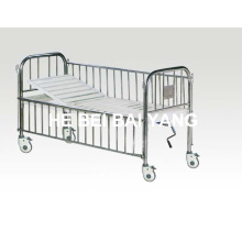 a-148 Movable Child Bed with Stainless Steel