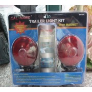 2PC DOUBLE SIDED MAGNETIK TRAILER LAMPU KIT