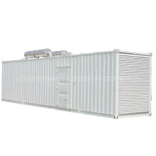 1800kVA контейнерных Тепловозного комплекта генератора приведенного в действие двигателем mtu 12V4000g63