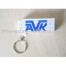 Porte-clés avec règle repliable