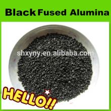 Grès d'alumine fondu noir de 36mesh pour le sablage
