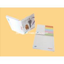 Notas adesivas pegajosas coloridas da nota / cortadas / etiqueta da promoção