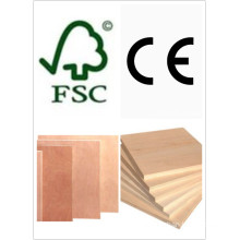 Laminated Plywood/Commercial Plywood Poplar Core E1 Glue