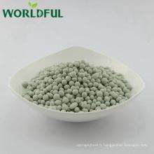 Zéolite verte naturelle de granule ébréchée pour le remplissage organique d'engrais d'aquaculture