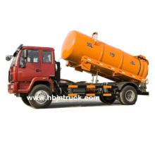 Sinotruk 266 hp Waste Water Suction Truck