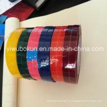 Fita pequena dos artigos de papelaria da cor cor-de-rosa azul roxa vermelha do verde amarelo