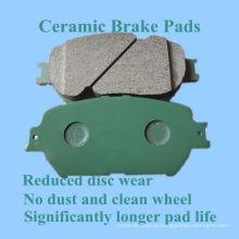 Almofada de freio cerâmica de alta qualidade