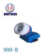 Blue 3AA Outdoor Plastic LED Headlamp