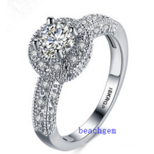 Hot Sell Jewelry- Cubic Zirconia Brass Rings (R0823)