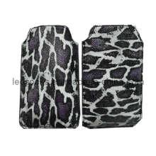 Alle Styles Handy Leopard Design Leder Tasche