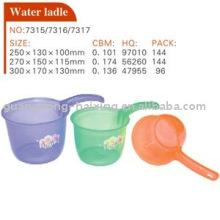 plastic water ladle