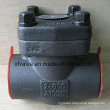 800lb Forged Steel A105 Thread NPT End Swing Check Valve