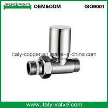 OEM&ODM Quality Polishing Brass Forged Straight Radiator Valve (AV3093)
