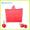 Cheap PE Disposable Rain Poncho Ball (RVC-106)