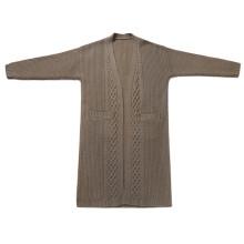 P18B14TR 100% cashmere malha camisola cardigan senhora
