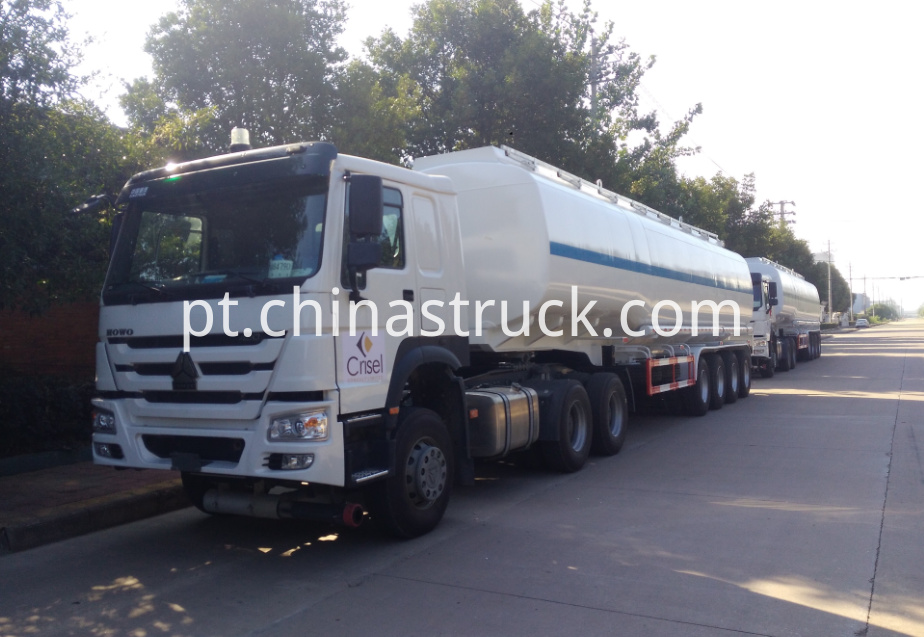 4 axle 50000 liters oil tank semi-trailer