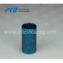Rodamiento de retención de bola FZ, retenedor de plástico, caja de bola de cobre con ranura circular.