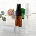 leere 50ml bernsteinfarbene Farbsprühflasche aus Kunststoff