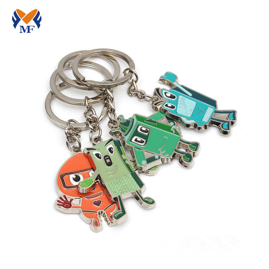 Metal Keychain with Logo