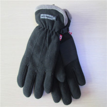 Men's fleece gloves with lining