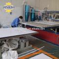JINBAO anti UV ESD 5mm 8mm gris ivoire rigide pvc feuille 4x8 surface dure