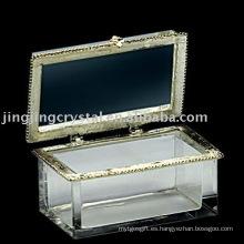 Caja de cristal caja de joyas