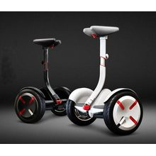 Smart self balancing air filled tires electric scooter