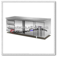 R100 2 Puertas 3 Cajones Fancooling Mostrador Refrigerador Marcas