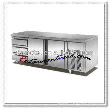 R100 2 Portes 3 Tiroirs Fancooling Comptoir Réfrigérateur Marques