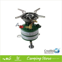 Preheating-Free Oil Stove for Camping