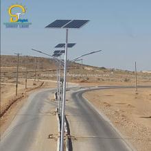 Luzes de rua do diodo emissor de luz da separação solar de 60W