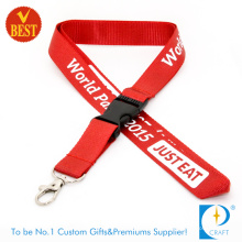 Fashion Nylon Promotion Lanyard for Staff (JN450)